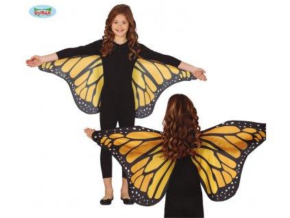 Křídla motýlí 110 x 50 cm