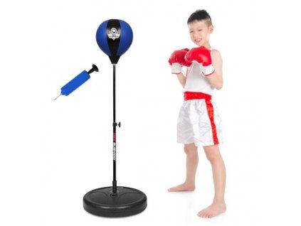 Dětská boxovací hruška se stojanem DBX BUSHIDO PSD1  + textilní rouška ke každé objednávce zdarma