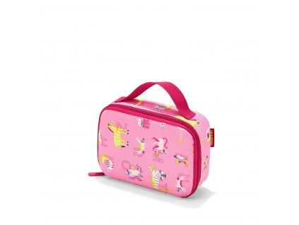 Reisenthel Thermocase Kids Abc friends pink  + textilní rouška ke každé objednávce zdarma