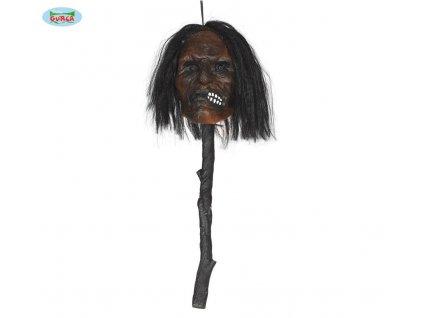Propíchnutá hlava - 53 cm