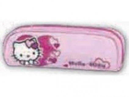 Penál oválný (růžový) Hello Kitty 5784