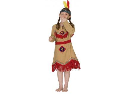 Kostým indiánky D