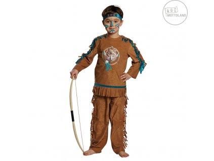 Indián Atacapa - kostým