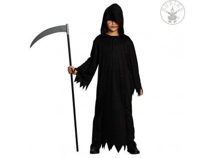Černý hábit s kapucí  Halloween