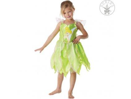 Kostým Zvonilky Classic Big Print - licenční kostým Fairies Tinker Bell