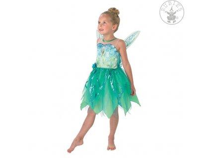 Pixie Tinker Bell Pirate Fairy Child dětský licenční kostým Zvonilka