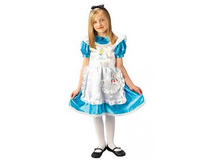Kostým Alice in Wondrland Disney D - licenční kostým