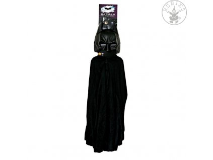 Batman maska+plášť (5482) - licenční kostým  dětský - chlapecký karnevalový - maškarní kostým