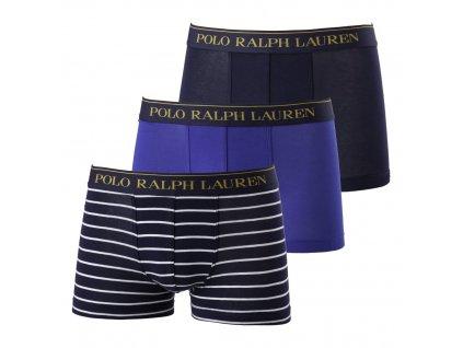 Ralph Lauren 3Pack Boxerky Blue