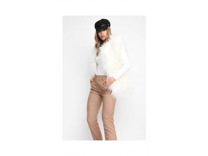 Sugarbird Vesta Fur ME Bílá  + textilní rouška ke každé objednávce zdarma
