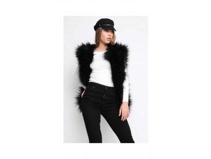 Sugarbird Vesta Fur ME Černá  + textilní rouška ke každé objednávce zdarma