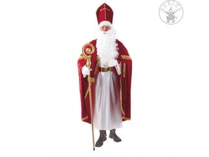 Mikuláš - luxusní kostým na Milkuáše  Mikuláš deluxe kvalitní mikulášský kostým