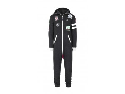 OnePiece Alps Patch Grey S