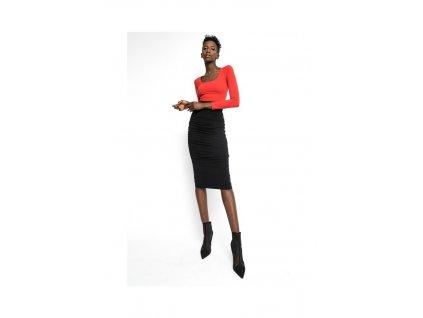 Sugarbird Sukně Coline Black  + textilní rouška ke každé objednávce zdarma
