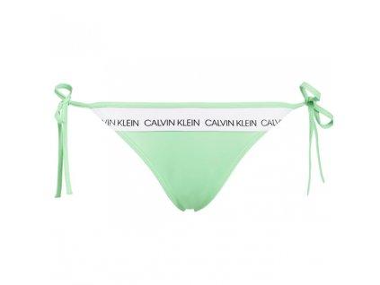 Calvin Klein Plavky CK Logo Green Spodní Díl L