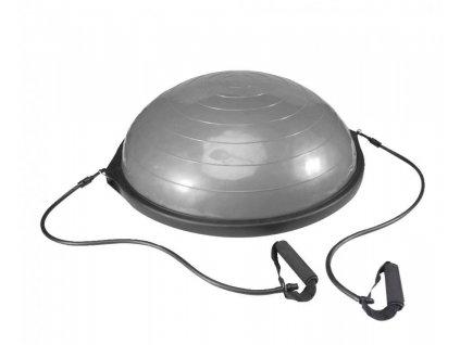 Balanční podložka LiveUp Dome STEP Ball s expandery 660 mm