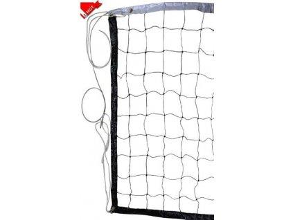 Síť volejbalová s ocelovým lankem 4001N SEDCO černá  9,7 x 1 m