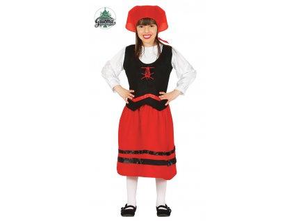 Pastýřka - Červená Karkulka dětský kostým  Shepherd costume