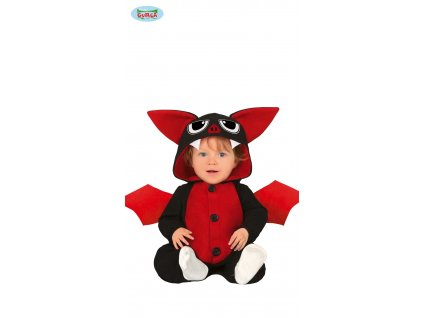 Baby pyžamo netopýr dětský kostým  Baby bat pajamas child costume