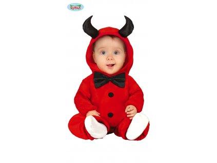 Baby malý ďáblík dětský kostým  Baby little devil child costume