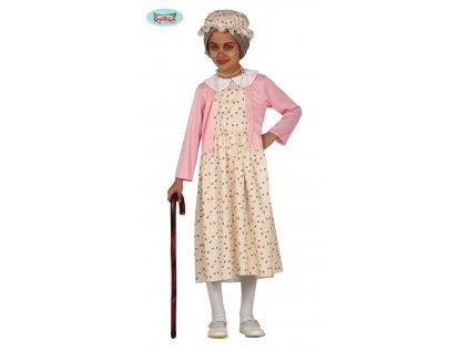 Babička dětský kostým  Granny child costume