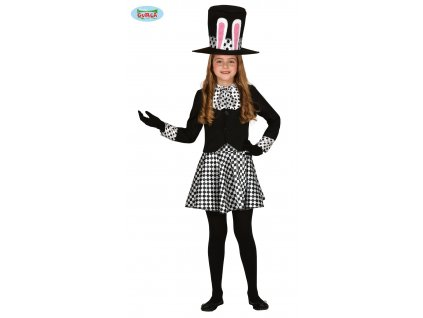 Klaun Crazy hat girl dětský kostým  Crazy hat girl child costume