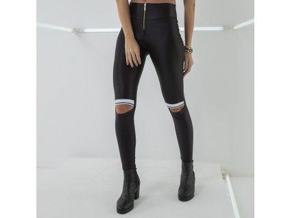 Labella Kalhoty Leather Black S
