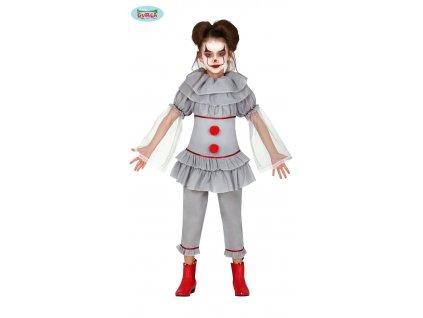 Klaun zabiják dětský kostým  Killer clown child costume