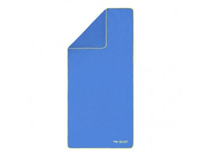 Froté ručník SPURT SRF01 tm.modrý/zelený  + textilní rouška ke každé objednávce zdarma