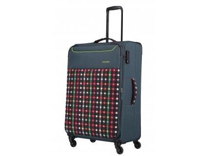 Travelite Argon L Checked Pattern