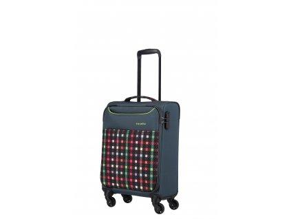 Travelite Argon S Checked Pattern