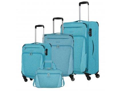 Travelite Jakku 4w S,M,L + BB Turquoise