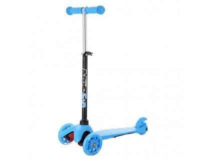 Koloběžka tříkolová NILS FUN HLB05 modrá