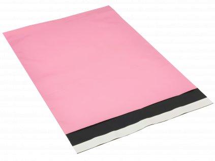 Přepravní plastová obálka barevná - růžová 10 kusů