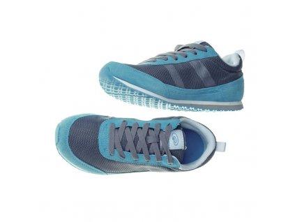 Spokey STREET Vycházkové boty šedo-modré č. 35