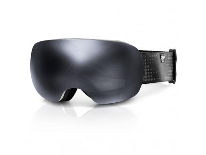 Spokey LOGAN lyžařské brýle šedé