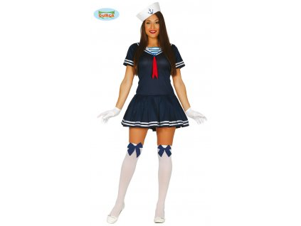 Námořnice modrý kostým  Sailor woman costume
