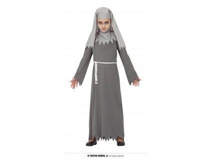 Gothic jeptiška kostým dětský