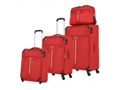Travelite Speedline 2w S, 4w M,L + Boardbag Red