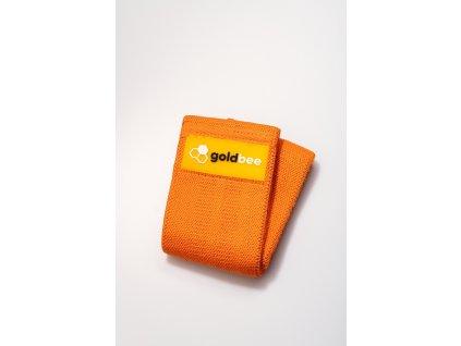 GoldBee Textilní Odporová Guma - Oranžová M
