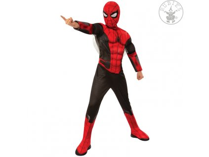Spider-Man FFH Red-Black Deluxe - Child