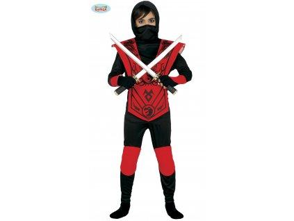 Červený Ninja dětský kostým