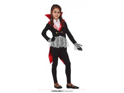 Malá upírka kostým dětský