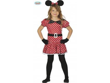 Dívčí kostým Mickey Mouse