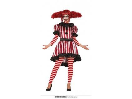 Horor klaun dámský kostým