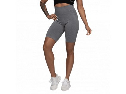 Better Bodies Kraťásky Rib Seamless Grey Melange - M