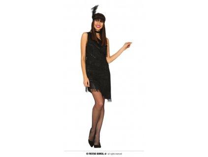 Charleston černé šaty
