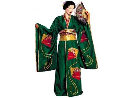 GEISHA GREEN - kostým