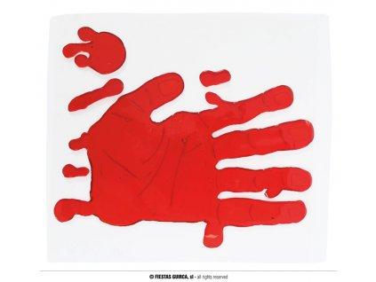 Dekorace - krvavá ruka