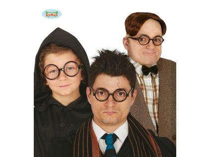 Brýle černé ala Harry Potter